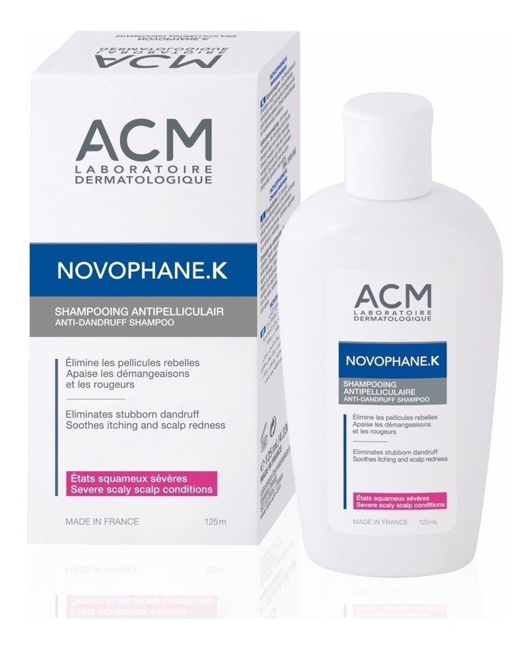 NOVOPHANE K SHAMPOO ANTICASPA 125 ML