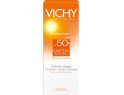 CAPITAL SOLEIL CREMA VISAGE 50FPS 50 ML